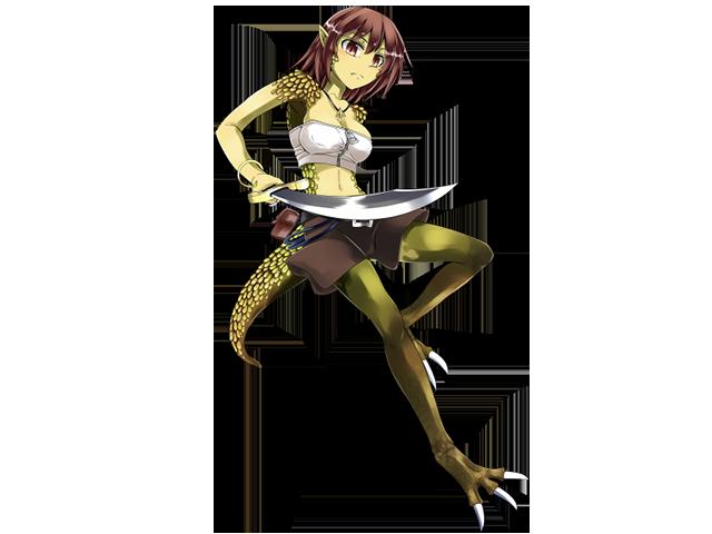 Lizard Thief A/Liru