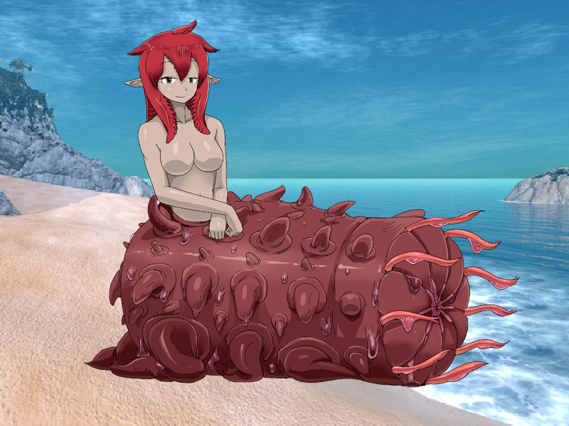 Sea Cucumber Girl