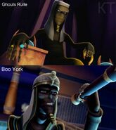 Ghouls Rule Boo York - Ramses de Nile comparison