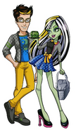 Profile art - Picnic Casket for 2 Frankie and Jackson