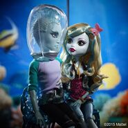 Diorama - love of water monsters
