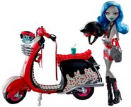Doll stockphotography - SSP Scooter II