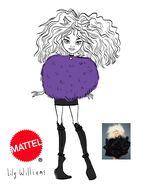 Concept art - Deluxe Gaga Clawdeen