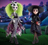 Monster High Skullector (2021) Lydia Deetz and Beetlejuice 1
