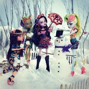 Diorama - winter Freaky Fusions