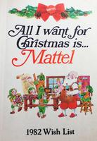 Mattel Christmas 1982