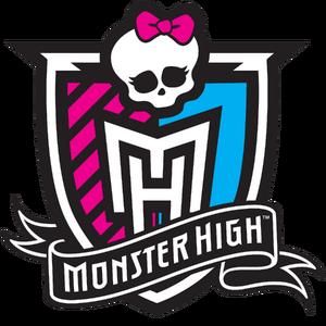 The Monster High logo.