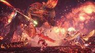 【MHWI BGM】高音質 猛り爆ぜるブラキディオス 乗り状態 戦闘曲 Raging Brachydios Mount Battle Theme OST