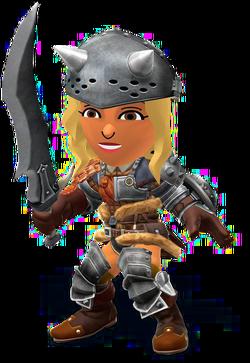 SSB4-Hunter's Armor (Female) Render 001.png