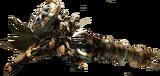 MH4U-Gunlance Equipment Render 001