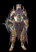 MHR Somnacanth Armor Man