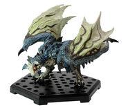 Capcom Figure Builder Plus Volume 11-Azure Rathalos Figure 001
