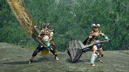 MHRise-Rider Series Hunter Layered Armor (Male and Female) Screenshot 001
