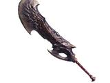 Black Fatalis Blade (MHWI)