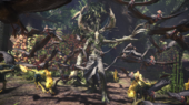 MHW-Ancient Leshen and Jagras Screenshot 001