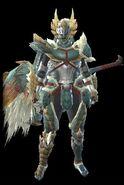 MHR Zinogre Armor Man