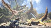 MHW-Rathalos and Great Jagras Screenshot 001