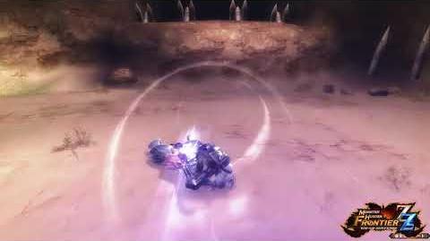 【MHF-ZZ】オリジナル新武器種『マグネットスパイク』紹介動画⑤ ~「磁力回避(打モード)」編~