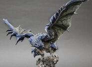Capcom Figure Builder Creator's Model Azure Rathalos 002