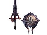 True Fatalis Sword (MHWI)