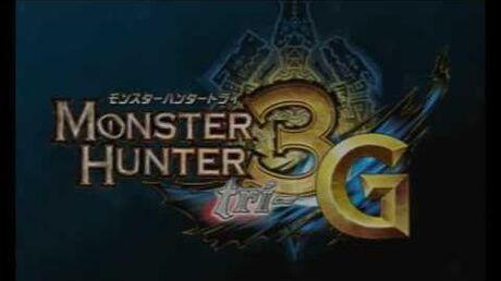 N3DS『モンスターハンター3(トライ)G』_プロモーション映像②