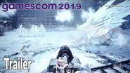Monster Hunter World Iceborne - Gamescom 2019 Trailer HD 1080P