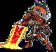 SSB4-Rathalos Armor (Male) Render 001