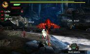 MH4U-Khezu and Red Khezu Screenshot 004