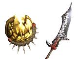 Shining Wyvern Blade (MHGU)