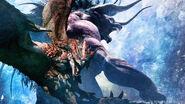 MHW-Rathalos and Behemoth Artwork 001