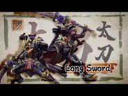 Monster Hunter Rise - Long Sword