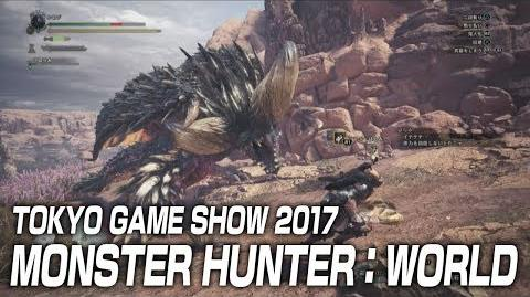 "TOKYO GAME SHOW 2017 ""MONSTER HUNTER WORLD"" Special Stage"