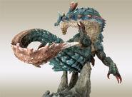 Capcom Figure Builder Creator's Model Lagiacrus 004
