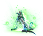 MHXR-Immortal Zinogre Render 001