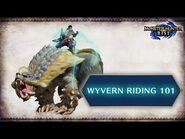 Monster Hunter Rise- Hunting 101 – Wyvern Riding