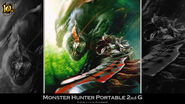 MH 10th Anniversary-Monster Hunter Freedom Unite Wallpaper 001