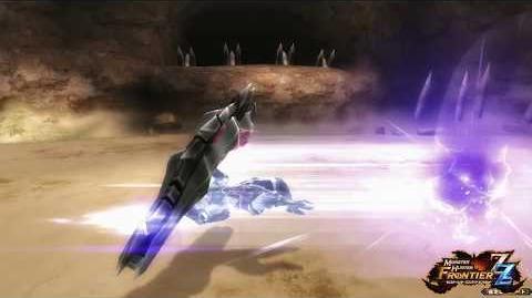 【MHF-ZZ】オリジナル新武器種『マグネットスパイク』紹介動画④ ~「磁力回避(斬モード)」編~