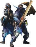 MHW-Dual Blades Equipment Render 001
