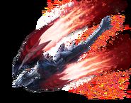 MHRise-Crimson Glow Valstrax Render 001