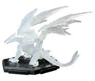 Capcom Figure Builder Plus Volume 8- Valstrax (Clear) Figure 001