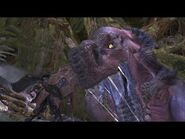 Monster Hunter World- Anjanath Boss Fight -7 (Solo - Hammer)