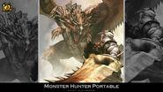 MH 10th Anniversary-Monster Hunter Freedom Wallpaper 001
