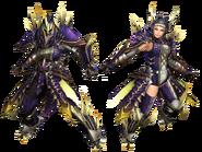 FrontierGen-Rebi G Armor (Blademaster) Render 2