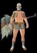 MHR Skhul Mask Armor Man