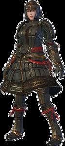 MHO-Lone Shen Gaoren Armor (Blademaster) (Female) Render 001.png