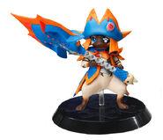 Capcom Figure Builder Palicoes Volume 3 Lagiacrus Cat