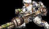 FrontierGen-Heavy Bowgun Equipment Render 002