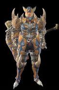MHR Tigrex Armor Man