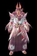MHR Mizutsune Armor Man