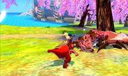 MHST-Pink Rathian and Red Khezu Screenshot 001